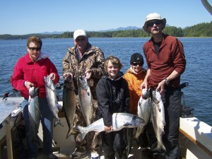 Wild Pacific Charters fishing fun for the whole family